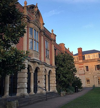 Somerville College Library - Image: Somerville College Library