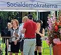 Sommartal 2015 in Stockholm 15 (Philip Botström & Shima Niavarani cropped).JPG