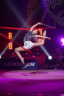 Son Yeon-jae South Korean rhythmic gymnast