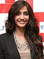 Sonam Kapoor promotes 'I Hate Luv Storys' on 92.7 BIG FM.jpg