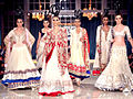 Sonam walks for Manish Malhotra at Delhi Couture Week 2011 01.jpg