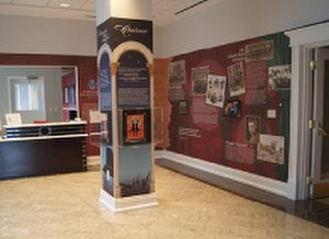 Great American Songbook Foundation - The Songbook Exhibit Gallery is located in the Foundation's administrative headquarters in Carmel, Indiana.