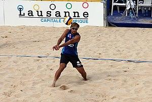 Ruslans Sorokins - CEV Beach Volleyball Satellite Lausanne 2014