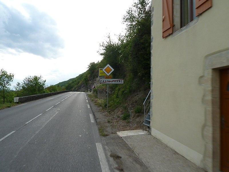 Sortie de Castelfranc