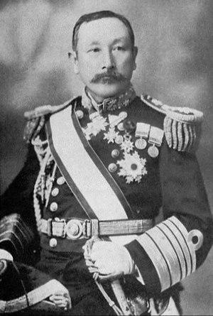 Uryū Sotokichi - Japanese Admiral Baron Uryū Sotokichi