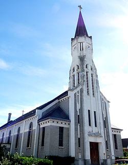 L'église Saint-Vincent-de-Paul.