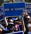 Souls to the Polls (2020 Oct) (50503202607) (holding Biden sign 2).jpg