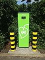 Source London Siemens electric car charging point Oakwood tube station car park 05.jpg