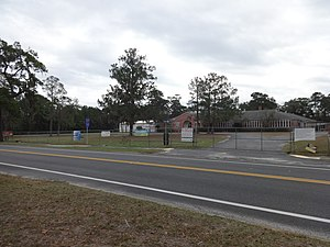 White Springs, Florida - Image: South Hamilton Elementary School, White Springs