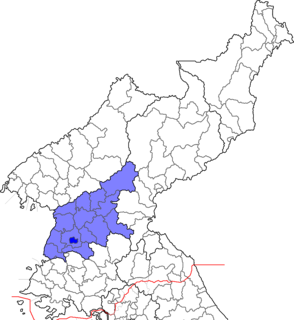 South Pyeongan Province (Republic of Korea) Province in Republic of Korea