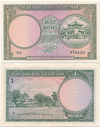 South Vietnamese đồng - South Vietnam 1 Dong 1955