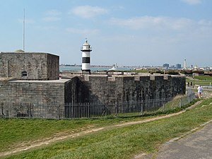 English: Southsea Castle From here Henry VIII ...