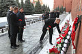 Soyuz TMA-19M crew at the Kremlin Wall (2).jpg
