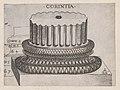 Speculum Romanae Magnificentiae- Corinthian base MET DP870154.jpg