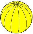 Spherical dodecagonal hosohedron.png
