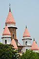 Spire and Domes - Hanseswari Mandir - Bansberia Royal Estate - Hooghly - 2013-05-19 7331.JPG