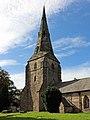 Spire of St Andrew's Church, Bebington 2.jpg