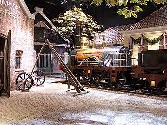 "Railway Museum (Netherlands) - Section ""the great discovery""."