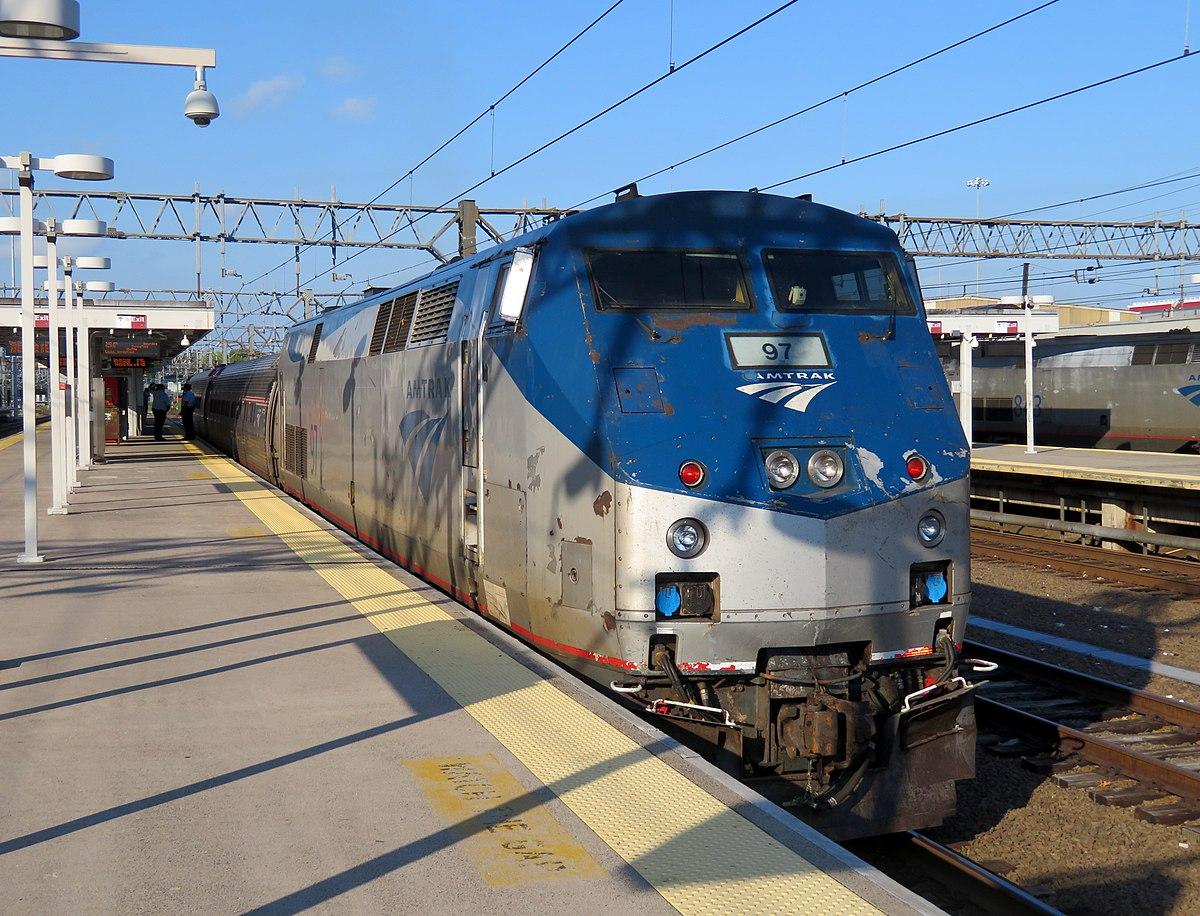 Railpicturesnet Photo Amtk 2019 Amtrak Bombardieralstom Acela