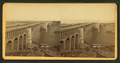 St. Louis Bridge and River below, by Fitzgibbon, J. H., 1816(?) - 1882.png