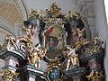 St. Michael Stockheim - Langhaus südlicher Seitenaltar (3).JPG