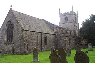 St Peters Church, Alstonefield Grade I listed church in Alstonefield, Staffordshire, UK