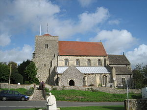 Steyning - The church of St Andrew and St Cuthman, Steyning