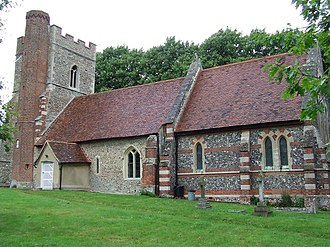 Ashen, Essex - Image: St Augustine Of Canterbury Ashen geograph.org.uk 907608