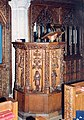 St John the Baptist, Lustleigh, Devon - Pulpit - geograph.org.uk - 1730458.jpg