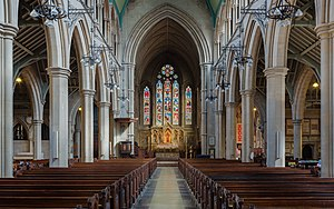St Mary Abbots - Image: St Mary Abbots Church Altar, Kensington, London, UK Diliff
