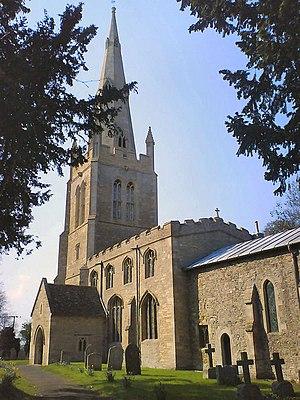 Church of St Mary the Virgin, Keysoe - Image: St Marys Church, Keysoe geograph.org.uk 384175