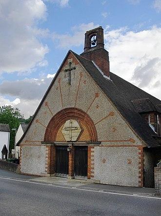 Pixham - St Mary's Church, designed by Edwin Lutyens