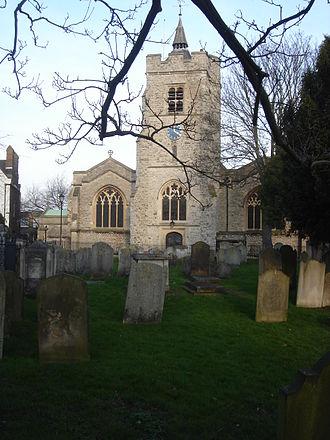 St Nicholas Church, Chiswick - St Nicholas Church, Chiswick