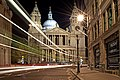 St Pauls Cathedral Street Night Ludgate Hill.jpg