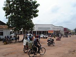 Commercial center of Mbandaka, 2008