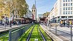 Stadtbahnhaltestelle Heumarkt Köln, Blick westwärts mit Rasengleis-0031.jpg