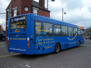 Plaxton Verde - Stagecoach North East Plaxton Verde bodied Volvo B10B at Teesside Running Day in April 2012