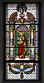 Stained glass window in the Saint Antony church in St. Ulrich in Gröden.jpg