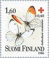 Stamp of Finland - 1986 - Colnect 47116 - Orange Tip Anthocharis cardamines.jpeg