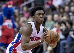 Stanley Johnson (basketball) - Johnson with the Pistons in December 2016