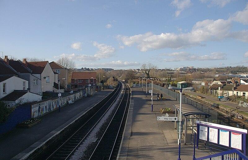 Stapleton Road railway station.