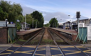 Starbeck railway station - Image: Starbeck railway station MMB 02
