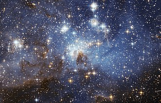 Star - A star-forming region in the Large Magellanic Cloud.