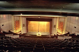 State Cinema - The 2200 seat auditorium pictured from the circle