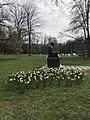 Statue of Mohandas K. Gandhi in Geneva - 1.JPG