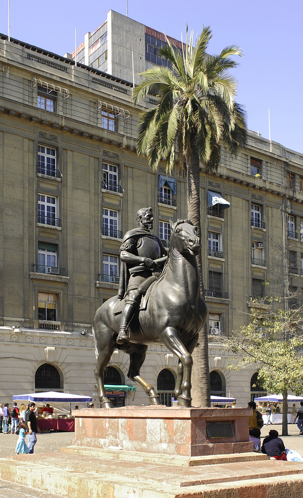 Statue of Pedro de Valdivia (Santiago, Chile)