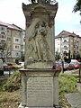 Statueta la Biserica Adormirea Maicii Domnului - panoramio (1).jpg