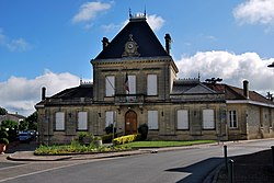 La mairie de Sainte-Eulalie.