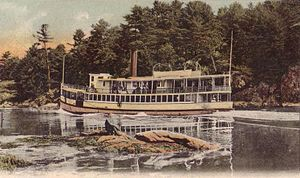 Woolwich, Maine - Hell Gate on the Sasanoa River c. 1906