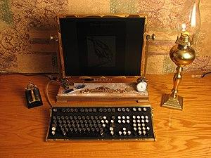 Steampunk desktop.